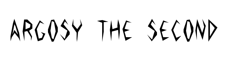 Argosy the Second  Free Fonts Download