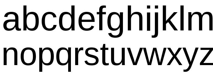 Arimo Шрифта строчной