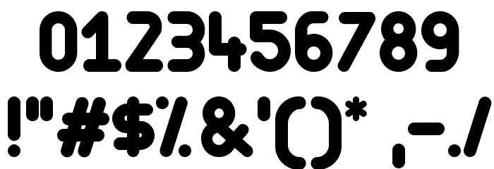 Arista Font OTHER CHARS
