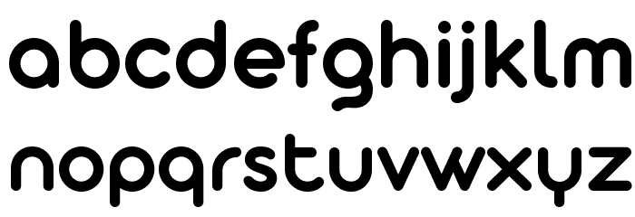 Aristotelica Display Trial DmBd Font LOWERCASE