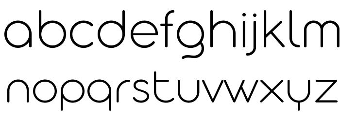 Aristotelica Display Trial ExLt Font LOWERCASE