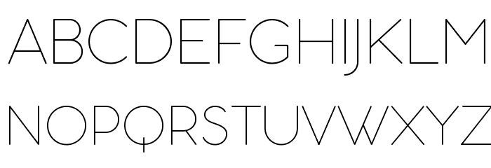 Aristotelica Display Trial Thin Schriftart Groß