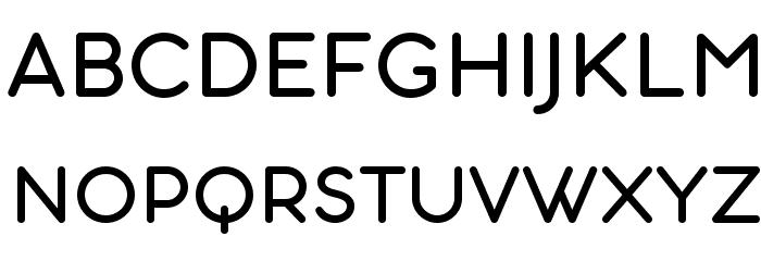 Aristotelica Small Caps Regular Font UPPERCASE