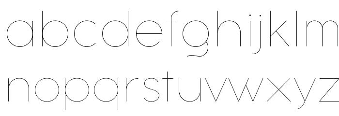 Aristotelica Text Trial Hairline Schriftart Kleinbuchstaben