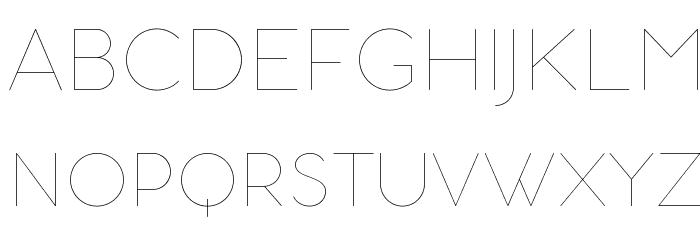 AristotelicaSmallCaps-UltraLigh Schriftart Groß