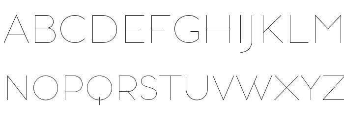 AristotelicaSmallCaps-UltraLigh Schriftart Kleinbuchstaben
