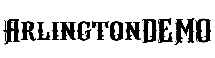 ArlingtonDEMO  Free Fonts Download