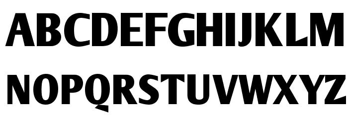ArmWrestler Bold Font UPPERCASE
