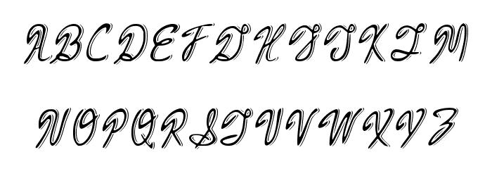 Armand_Cocktail Schriftart Groß