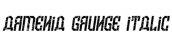 Armenia Grunge Italic  baixar fontes gratis