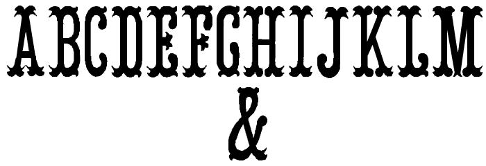 ArmenianCircus Шрифта ДРУГИЕ символов