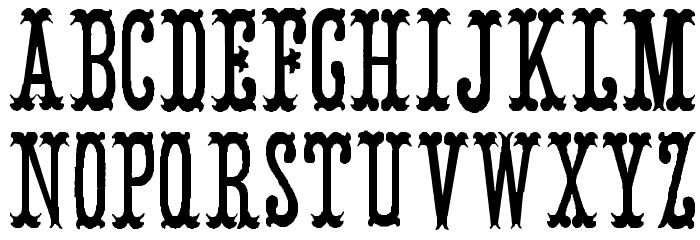 ArmenianCircus Шрифта строчной