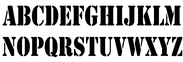 Army Condensed Font Download Free Fonts Download