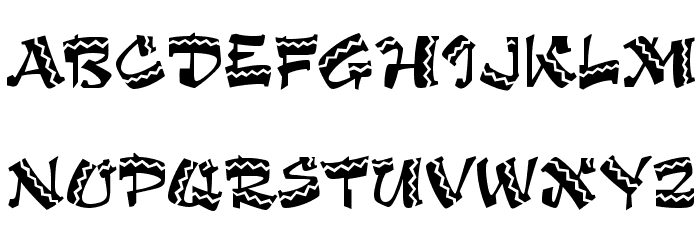 Arriba Arriba LET Plain:1.0 Font UPPERCASE
