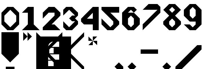 Arrowhead Regular Font OTHER CHARS