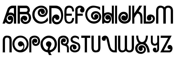 Arruba Font Litere mari