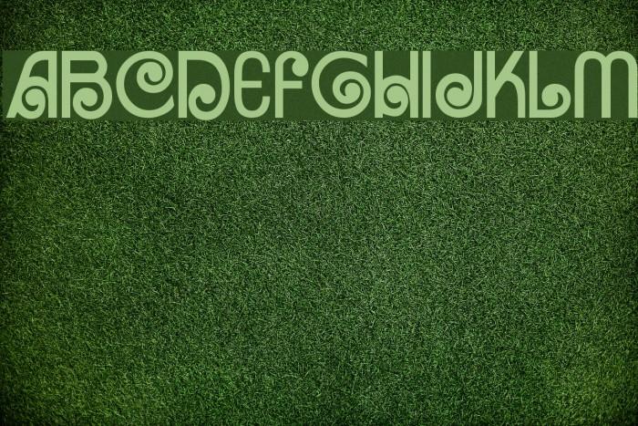Arruba Font examples