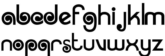 Arruba Font Litere mici