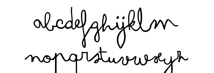 Arsenale White Font LOWERCASE