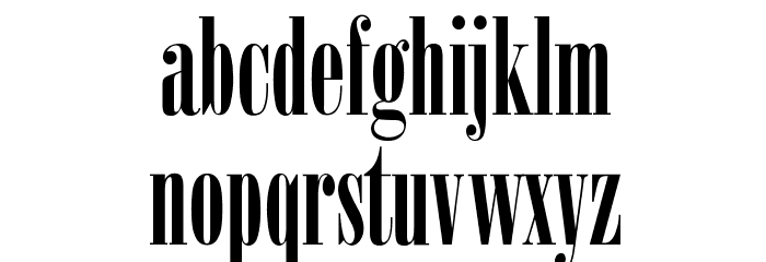 Arsis Font LOWERCASE