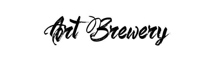 art brewery font free fonts download