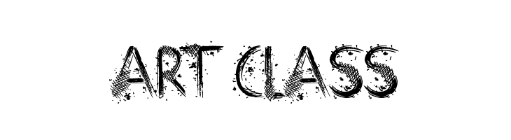 Art Class  Free Fonts Download
