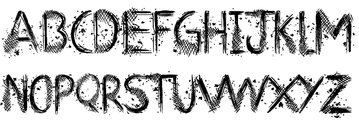 Art Class Font LOWERCASE
