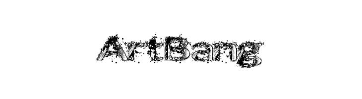 ArtBang  Free Fonts Download