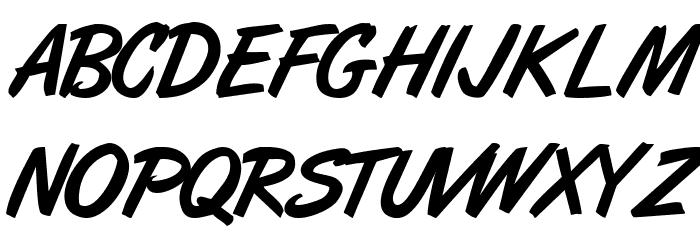 ArtBrush Medium Fonte MAIÚSCULAS
