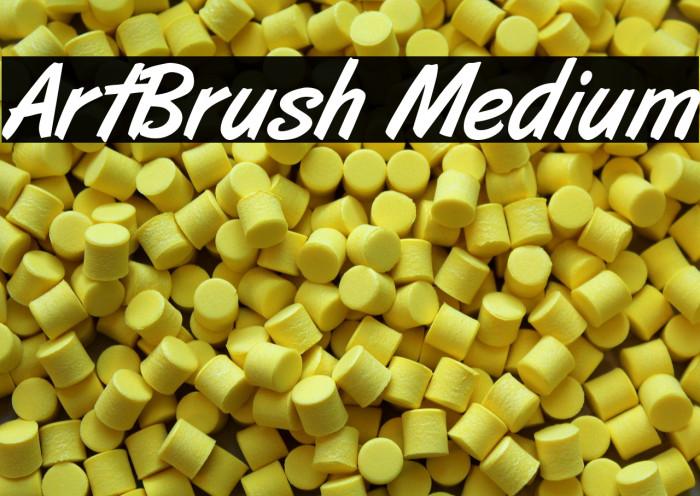 ArtBrush Medium Fonte examples
