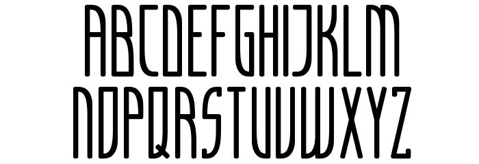 Articulate Font UPPERCASE