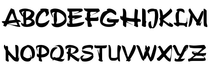 ArtificeSSK Font UPPERCASE