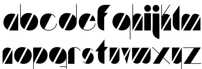 Artistica Font LOWERCASE