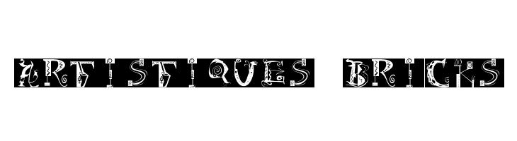 Artistiques-Bricks  नि: शुल्क फ़ॉन्ट्स डाउनलोड