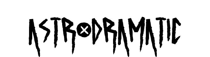 ASTRODRAMATIC  baixar fontes gratis