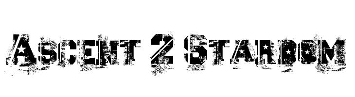 Ascent 2 Stardom  Free Fonts Download