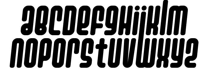 Ashbury Italic Font LOWERCASE