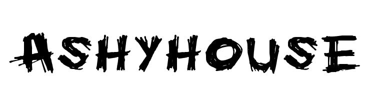 Ashyhouse  Скачать бесплатные шрифты