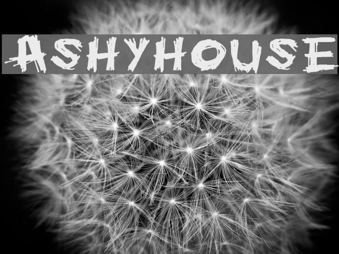 Ashyhouse Font examples