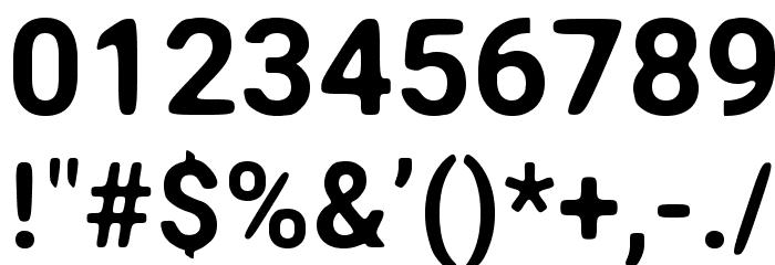 Asimov Print A Шрифта ДРУГИЕ символов