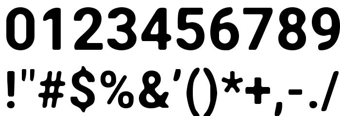 Asimov Print C Шрифта ДРУГИЕ символов