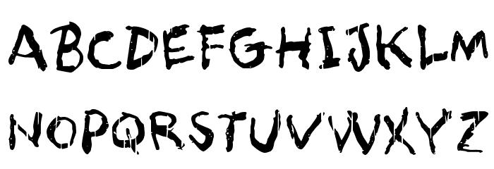 Asqualt Schriftart Groß