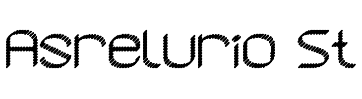 Asrelurio St  Free Fonts Download