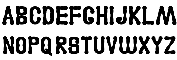 Astakhov Access Degree A Serif Font UPPERCASE
