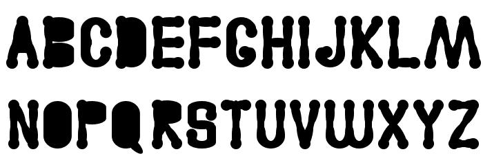 Astakhov Access Degree AF Serif Font UPPERCASE