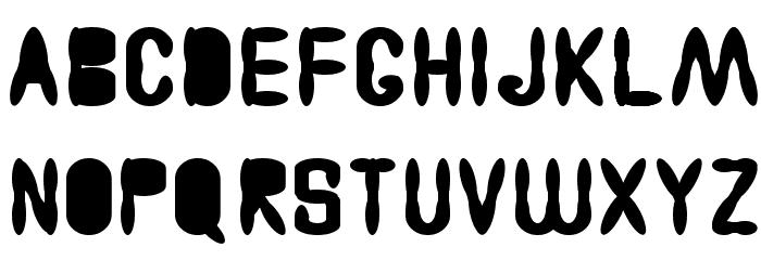 Astakhov Access Degree AF Font LOWERCASE