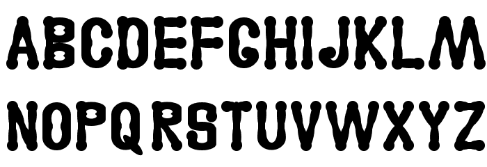 Astakhov Access Degree Serif Font LOWERCASE