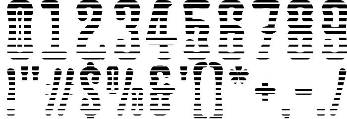 Astakhov Dished L Serif Font Alte caractere