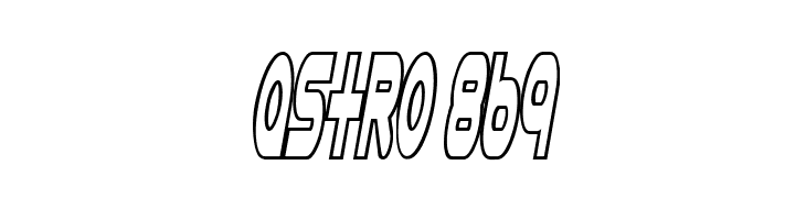 Astro 869  Free Fonts Download