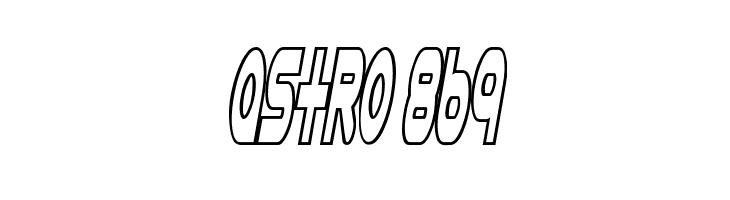 Astro 869  नि: शुल्क फ़ॉन्ट्स डाउनलोड